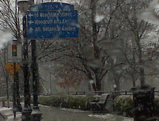 Piedmont Park Snow
