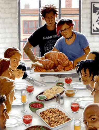 Punkthanksgiving